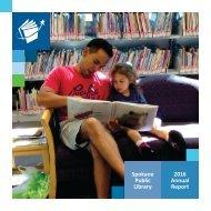 Spokane Public Library 2016 Annual Report