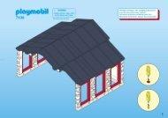 Playmobil 7438 - Notice de montage Playmobil 7438