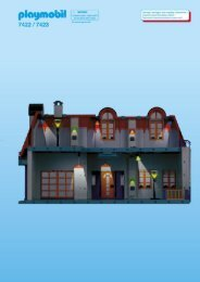 Playmobil 7422 - Notice de montage Playmobil 7422