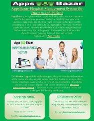 AppsBazar-Hospital Management System for Doctors and Patient