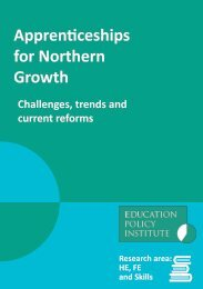 Apprenticeships for Northern Growth
