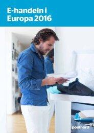 E-handeln i Europa 2016