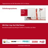 Mit Dipl.-Ing. Karl Olaf Kaiser Schottungssysteme - Priorit