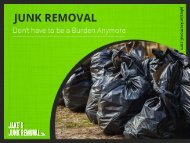 Reasons to Hire a Professional Junk Removal Expert in San Diego