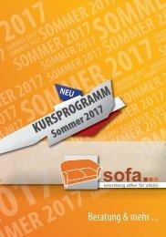 SOFA-Sommerprogramm 2017