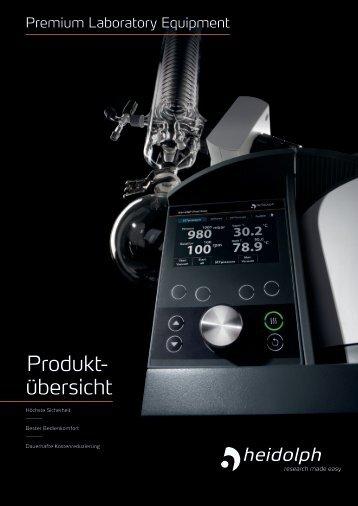 Heidolph: Ihr Premium-Laborequipment