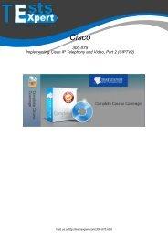 300-075 Real PDF Exam