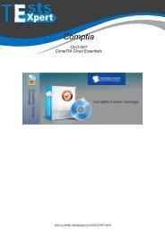 CLO-001 Real PDF Exam