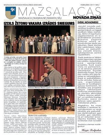 Mazsalacas novada ziņas_februāris2017
