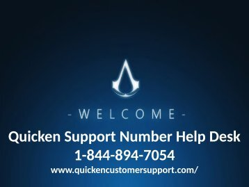 How_To_Handle_Quicken_Errors_Quicken_Support_Numbe