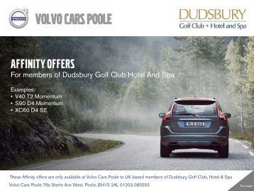 Dudsbury Affinity Offers Feb 2017