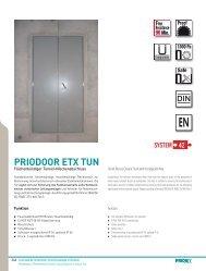 PRIODOOR ETX TUN - Priorit