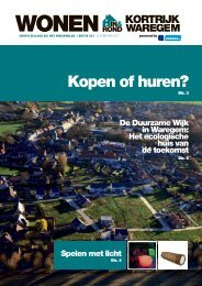 Wonen in & rond Kortrijk / Waregem
