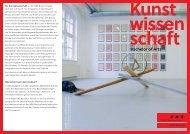 Bachelor-Studiengang Kunstwissenschaft an der HbK Braunschweig