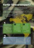 Hur bidrar försvarsexporten till försvarsnyttan? - Page 2