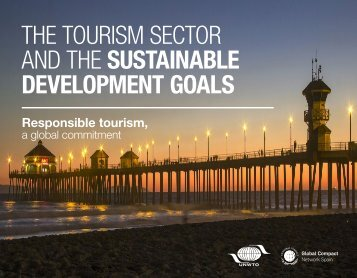 THE TOURISM SECTOR AND THE SUSTAINABLE DEVELOPMENT GOALS