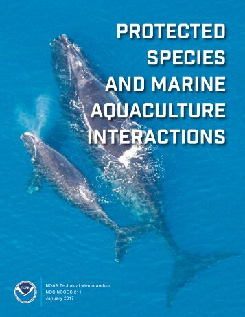 Protected Species and Marine Aquaculture Interactions