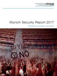 Munich Security Report 2017