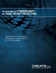 CYBERSECURITY TRADE SECRET PROTECTION