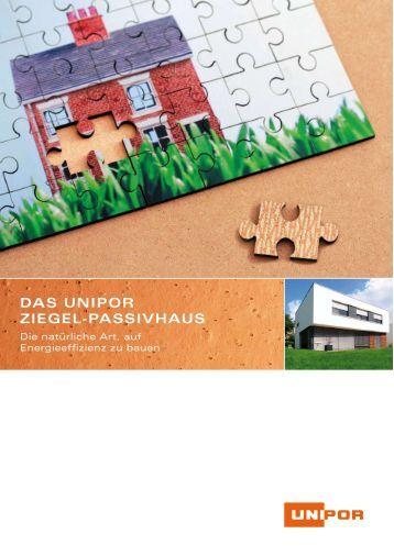 Passivhaus wandaufbau ziegel  20 u-Schalen Art.-nr. For