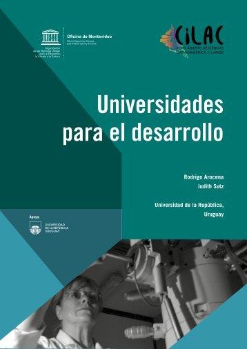 Universidades para el desarrollo