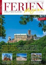 Ferienmagazin Deutschland 2017