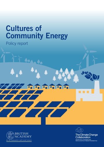 Cultures of Community Energy