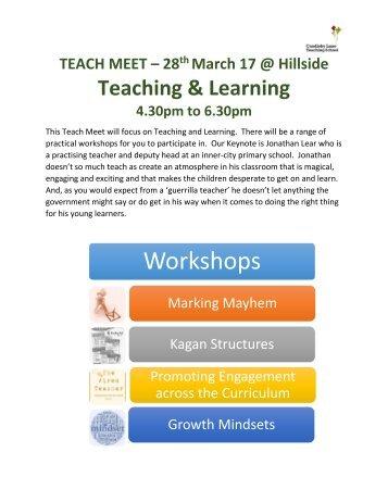 Teach Meet 28.3.17