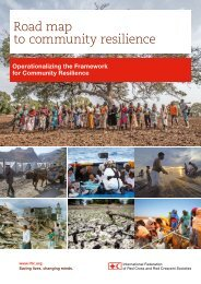 Road map to community resilience