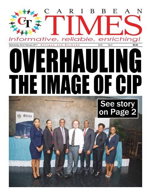 Caribbean Times 3rd Issue - Wednesday 22nd February 2017
