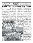 Caribbean Times 3rd Issue - Wednesday 22nd February 2017 - Page 4