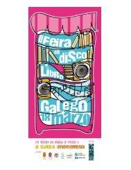REVISTA Programa II FEIRA DISCO E LIBRO GALEGO
