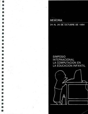 """Simposio Internacional: """"La Computación en la Educación Infantil"""""""