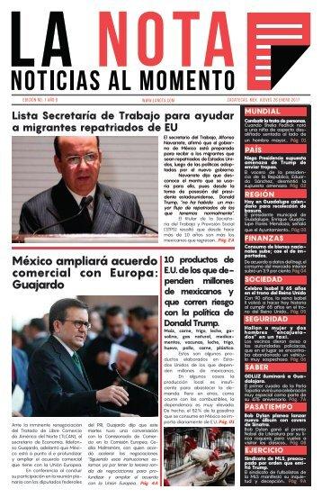 La Nota (Periódico) - Gabriela Inostroza