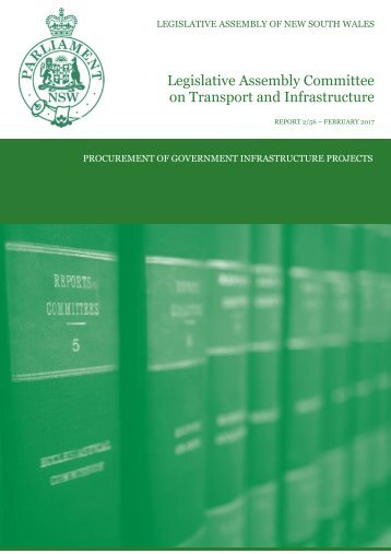 Legislative Assembly Committee on Transport and Infrastructure