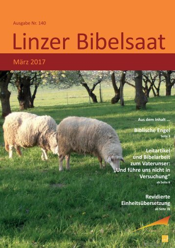 Linzer Bibelsaat: Ausgabe Nr. 140, März 2017