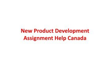 NPD Writing Help canada