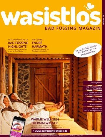 wasistlos badfüssing magazin Februar 2017