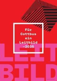 Für Cottbus ein Leitbild —2035