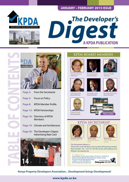 The Developer's Digest, January to March 2015 Issue