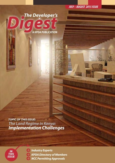 The Developer's Digest, July to August 2015 Issue
