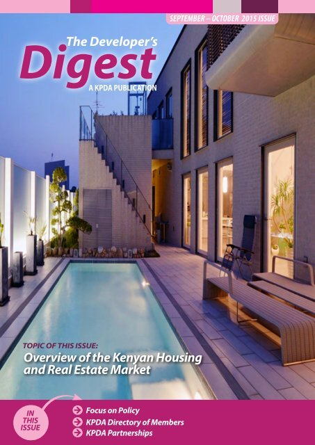 The Developer's Digest, September - October 2015 Issue