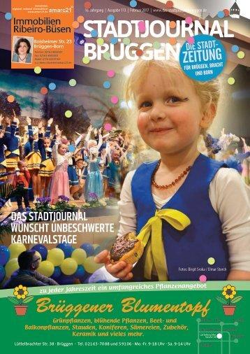 Stadtjournal Brüggen Februar 2017