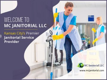 MC Janitorial LLC - The Best Janitorial Service in Town