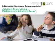 Individuelle Förderung, Differenzierung in Grund - Sachsen