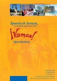 Spanisch lernen, - Vamos Sprachreisen