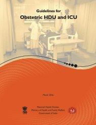 Obstetric HDU and ICU