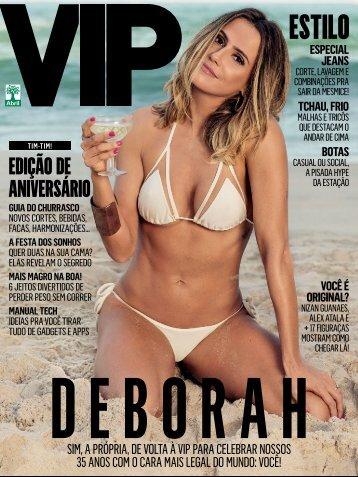 Revista Vip Deborah Secco Junho 2016