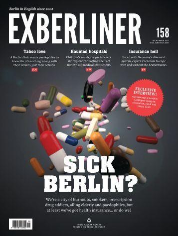 EXBERLINER Issue 158, März 2017