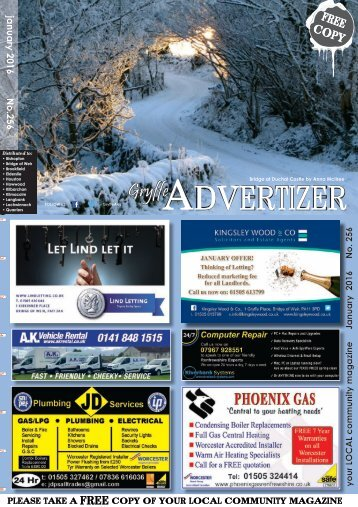 256 January 2016 - Gryffe Advertizer